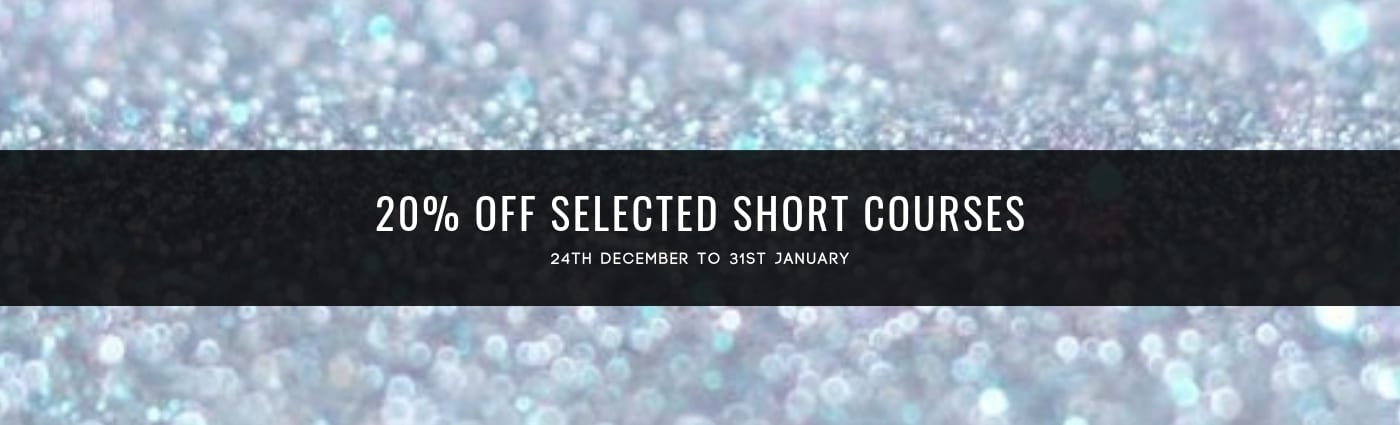 20% off selected short beauty courses